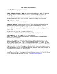 Format For An Executive Summary Executive Briefing Template 98097 Images Of Pdf Nategray Net