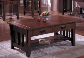 This Stunning Coffee Table Is Built In The Mission Style With Mortise And  Tenon Joinery. The Drawers Are Dovetail Construction. Built With Solid  Hardwood ...