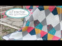 Fractal Free Quilt Pattern for Art Gallery Fabrics and Fat Quarter ... & Fractal Free Quilt Pattern for Art Gallery Fabrics and Fat Quarter Shop -  AGF Stitched - YouTube Adamdwight.com