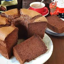 Just like french sponge cakes called génoise, this recipe doesn't have any leavenings such as baking powder. Resep Chocolate Chiffon Cake Steemit