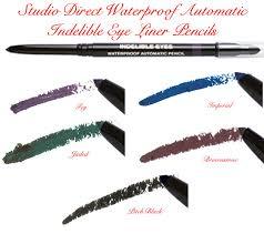 Eyeliner Chart Indelible Eyeliner Cosmetic Makeup Eye Liner Color Selection