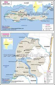 travel map of daman and diu