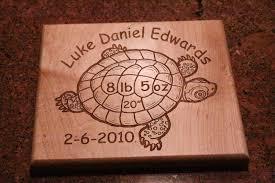 baby plaque luke