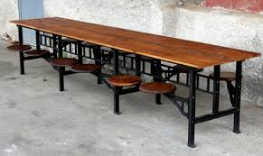 industrial reclaimed wood furniture. industrial cafeteria table image 8 see 7 more pictures reclaimed wood furniture i