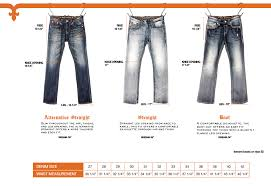 Ageless Bke Jeans Style Chart 2019