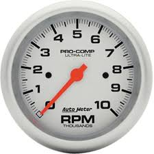 similiar tach gauge keywords auto meter pro comp ultralite tachometer gauge 3 3 8 by autometer