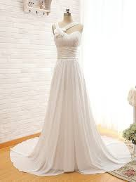 Simple Elegant Bridal Dress Wedding Dress New A Line Sweetheart Sleeveless Off Shoulder Customize Floor Length Chapel Train Long Lace Up Wedding