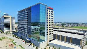 the state farm insurance regional campus totals 2 2 million square feet of real estate the