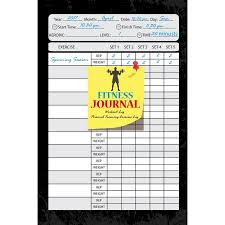 weight training log book fitness journal workout log personal training exercise log weight