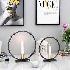 Circle Tea Light Holder 3d Geometric Tea Light Wall Mounted Candle Holder Home Decor
