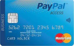 Image result for paypal cashback mastercard