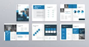 Brochure Templates For It Company Template Layout Design With Cover Page For Company Profile Annual