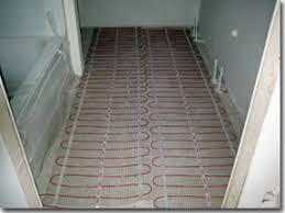 bathroom floor heating mats