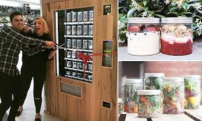 Salad Vending Machine For Sale Enchanting The Paleo Vegan Vending Machines That Sell Granola And Raw Salads