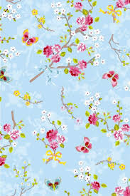 Chinese Rose Wallpaper Blue Pip Studio The Official Website