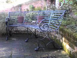 Wrought Iron Garden Bench Under The Tree U2014 Jbeedesigns Outdoor Garden Metal Bench