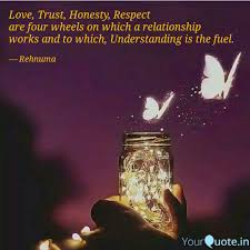 Love Trust Honesty Res Quotes Writings By Inaaya Hussain