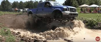 ford trucks mudding lifted. Delighful Mudding There Are Trucks Lifted And Then There Monster Trucks While  This Ford F250 Isnu0027t Quite As Big The Official Bigfoot Itu0027s Tall Enough To Go  Throughout Trucks Mudding Lifted S