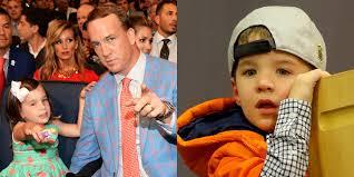 peyton manning kids. Peyton Manning\u0027s Kids Mosley \u0026 Marshall Are So Cute! (Photos) | 2016 Super Bowl, Ashley Manning, Celebrity Babies, Manning