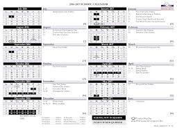 How To Make A School Calendar Printable Blank School Calendar Templates At