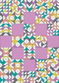 289 best quilting: half square triangles images on Pinterest ... & In Color Order: Over and Above Quilt Setting Tutorial Adamdwight.com