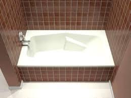 drop in tub surround diy stunning bathroom features a drop