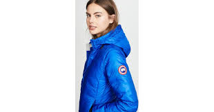 Canada Goose Camp Hooded Quilted Shell Down Jacket in Blue - Lyst