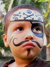 face painting link with step by step instructions to various designs description from