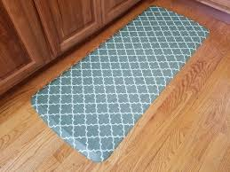 awesome kitchen mats home depot blue moroccan pattern gel kitchen floor mats costco brown wooden laminate