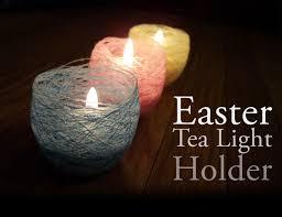 Diy Tea Light Candle Holders Mind Ruffle Diy Easter Tea Light Candle Holder