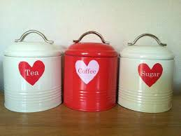 impressive canisters outstanding red kitchen canister ceramic vintage plastic