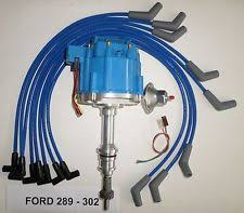 ford 302 distributor ford small block 221 260 289 302 blue hei distributor spark plug wires usa