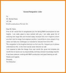Samples Of Resignation Letters Impressive 48 Good Resignation Letter Sample Pdf Quick Askips
