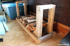 indoor firewood rack amazon