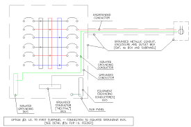 creating a traditional isolated ground [archive] the garage bender isolation panels at Isolation Panel Wiring Diagram