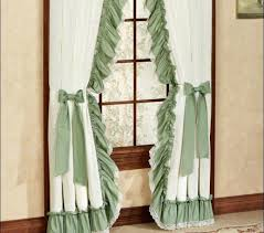 criss cross curtains medium size of on clearance long ruffled sheer white