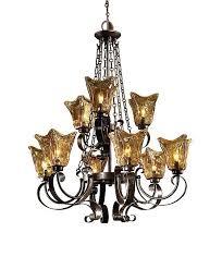 uttermost 21005 vetraio 9 lt chandelier