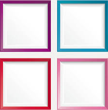 simple frame border design. Simple Colored Photo Frame Vectors Border Design D