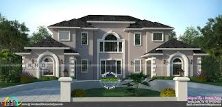 American Home Design 5 Bedroom 3322 Sq Ft American Style Modern Home Design