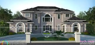American House Model Design 5 Bedroom 3322 Sq Ft American Style Modern Home Design