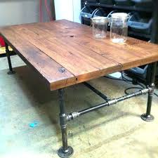 small industrial coffee table rustic style pertaining to tables decor storage west elm large s