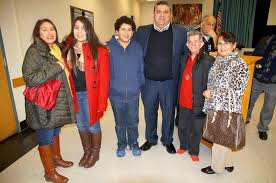 The Sanger Scene - Superintendent Edward Lucero with his family. L ...