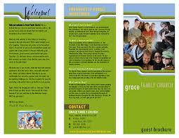 What Is A Pamphlet Sample Samples Of Brochures Jennie Design