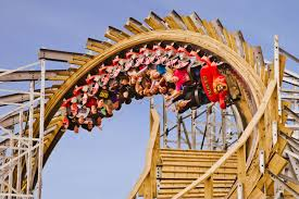 gravity group sends wooden roller coaster upside down