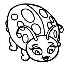 Small Picture Beautiful Lady Bug Coloring Page Color Luna