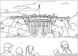 Small Picture Coloring page White House