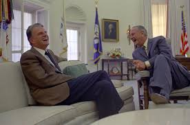 lbjs office president. Lbjs Office President. Billy Graham And President Lyndon B. Johnson Share A Laugh While E