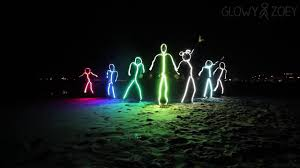 Light Up Stick Figure Costume Uk Glowy Zoey Light Up Led Stick Figure Suits
