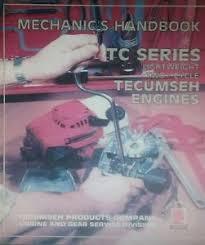 Tecumseh TC-200 2-Stroke Engine Service Manual Complete Overhaul 26p ...
