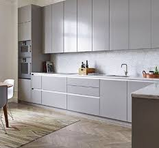 modern kitchen cabinet ideas. Brilliant Kitchen Sleek Handle Less Vertical Cabinets With Modern Kitchen Cabinet Ideas